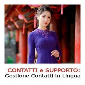 supporto clienti in cinese